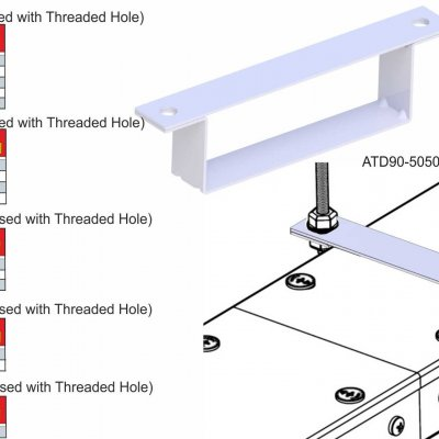 Trunking Cable Trays Tray Carriers (ATDT Series)
