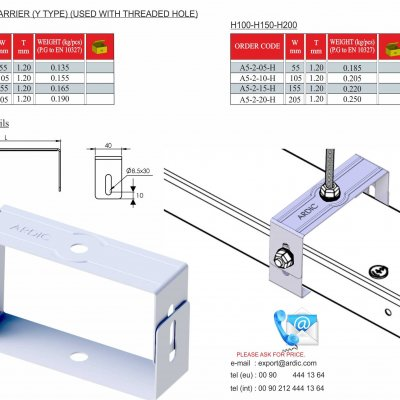 Trunking Cable Trays Tray Carriers (A5-2 Series)